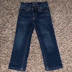 Toddler straight cut jeans